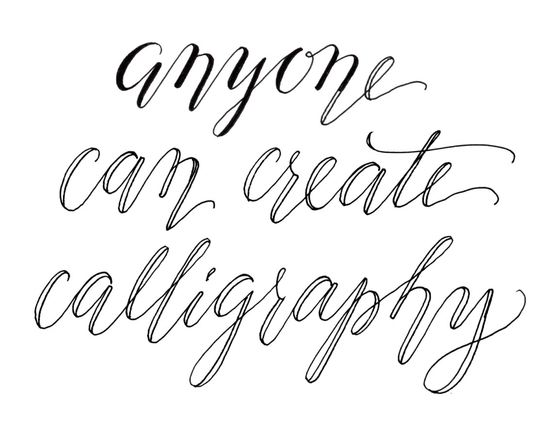 Cheating calligraphy tutorial the postman s knock