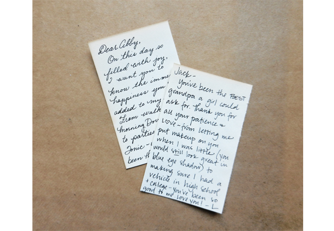 DIY Vintage Book Page Place Cards (With a Note Inside!) | The Postman's Knock by Lindsey Bugbee