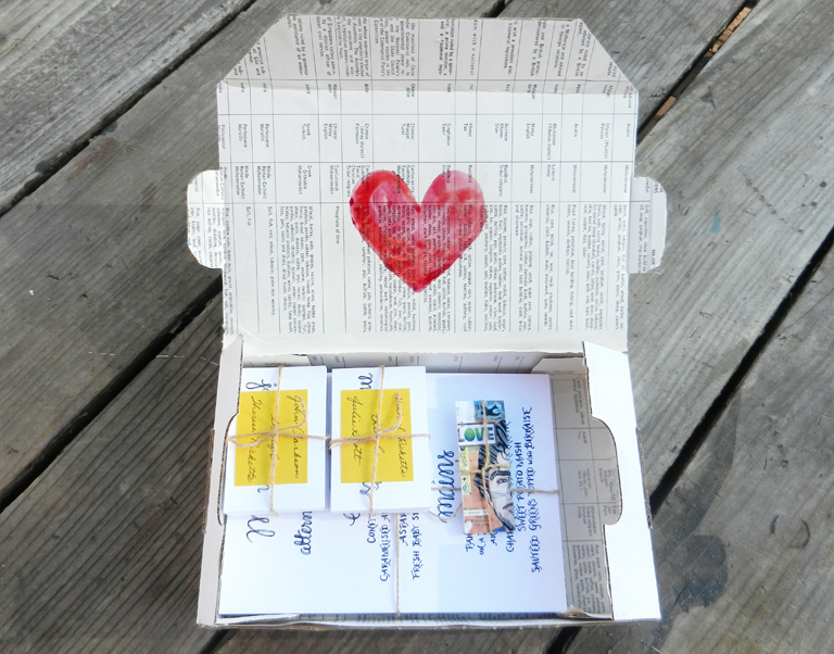 Pretty Priority Mail Packaging | The Postman's Knock by Lindsey Bugbee