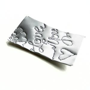 Aluminum Handmade Gift Tag Tutorial