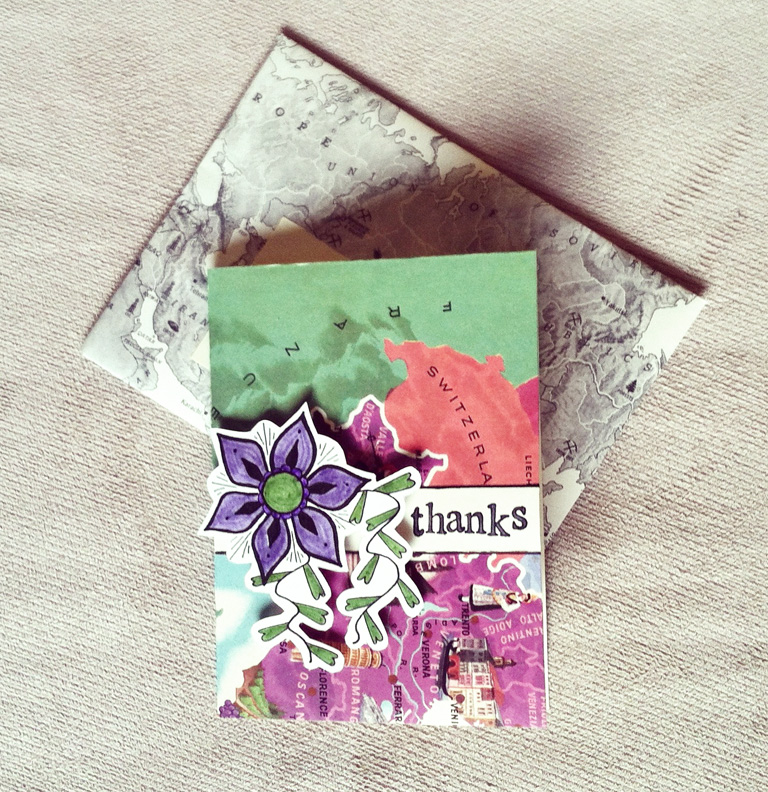 Handmade Card Inspiration | The Postman's Knock by Lindsey Bugbee