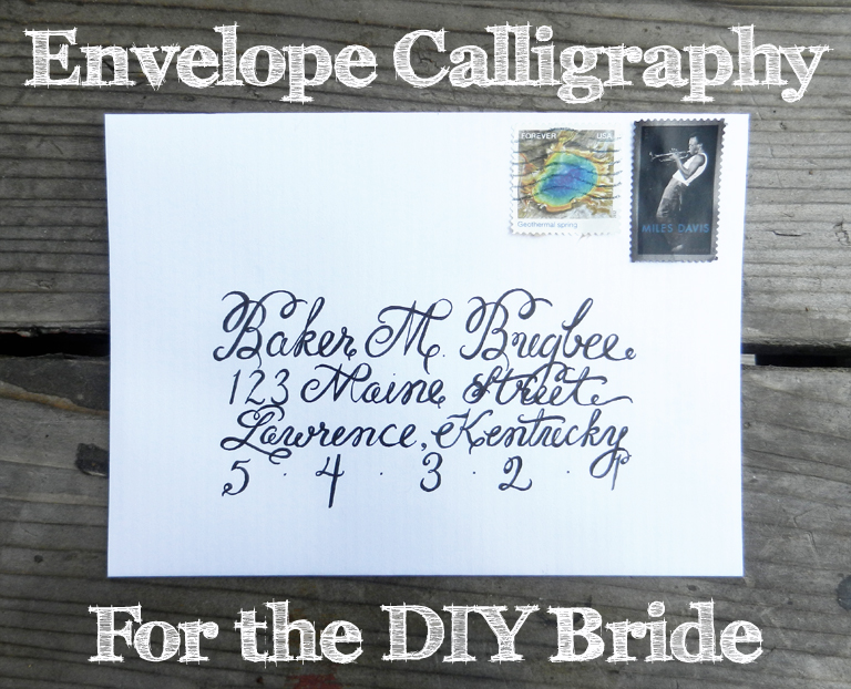 How to Create Envelope Calligraphy | The Postman's Knock