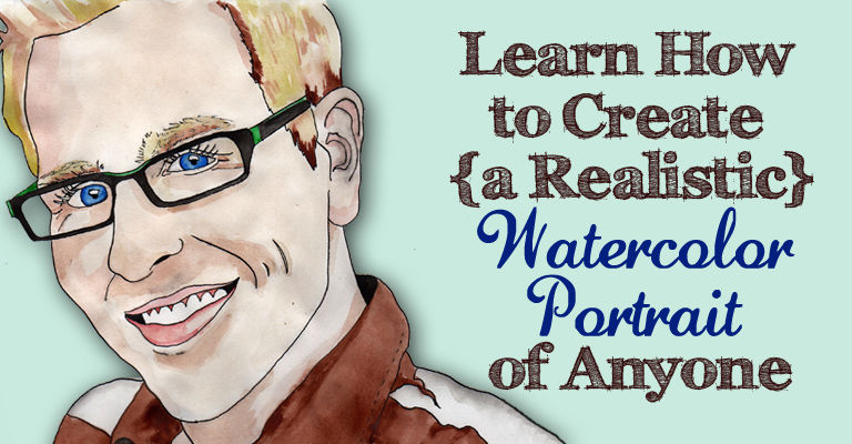 How to Create Watercolor Portraits | The Postman's Knock