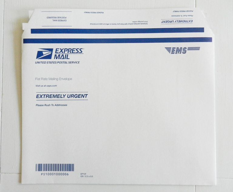 Express Mail Envelope | The Postman's Knock