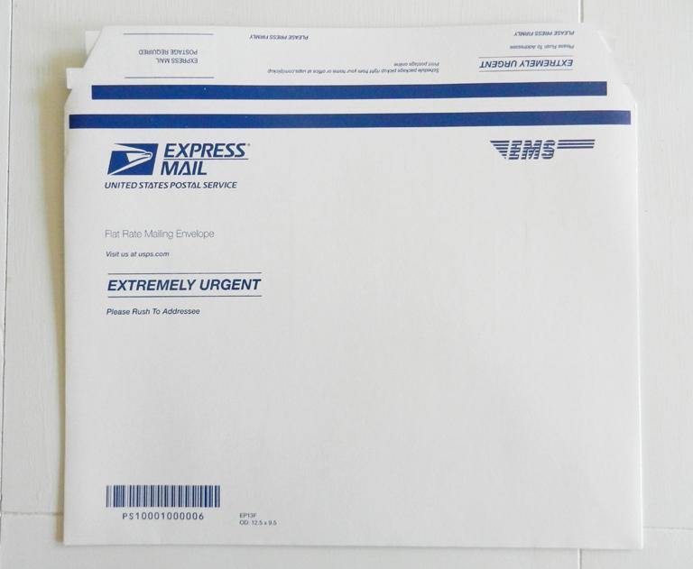 Express Mail Envelope | The Postman's Knock