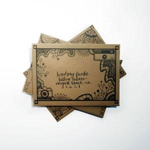DIY Mail Art Envelope Template