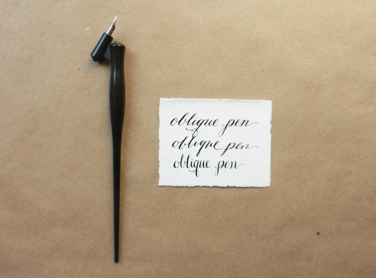 Calligraphy pen comparisons the postman s knock