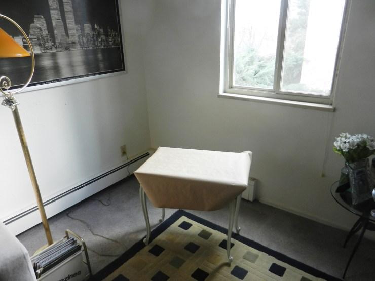 Kraft-Covered Table | The Postman's Knock