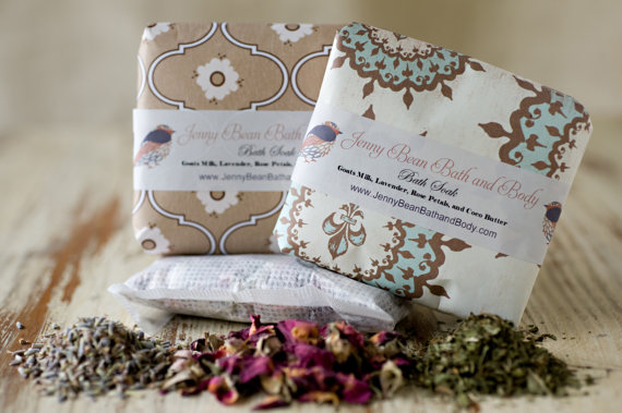 Bath Teas by Jenny Bean Bath and Body | Small Gift Idea - The Postman's Knock