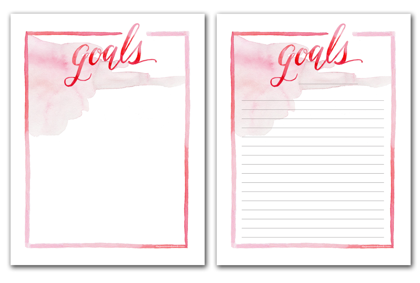image about Goal List Printable referred to as Printable Objective Record and Secrets for Creating Great Ambitions The