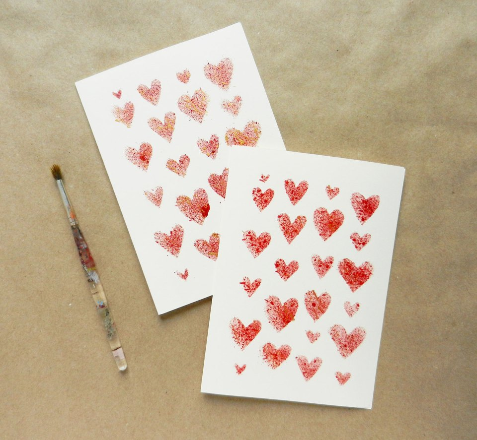 Handmade Valentines Day Card Tutorial – Handmade Valentine Day Card