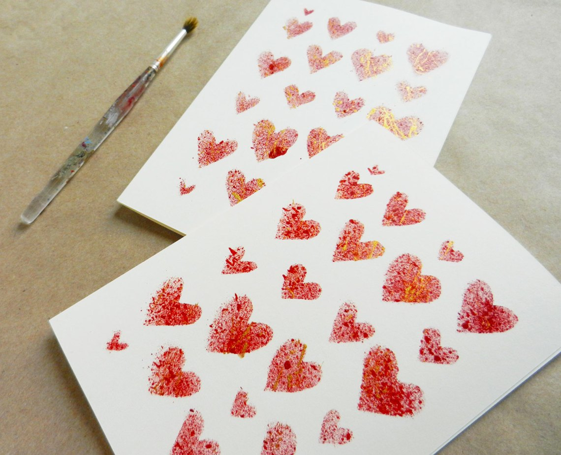 Handmade Valentine's Day Card | The Postman's Knock