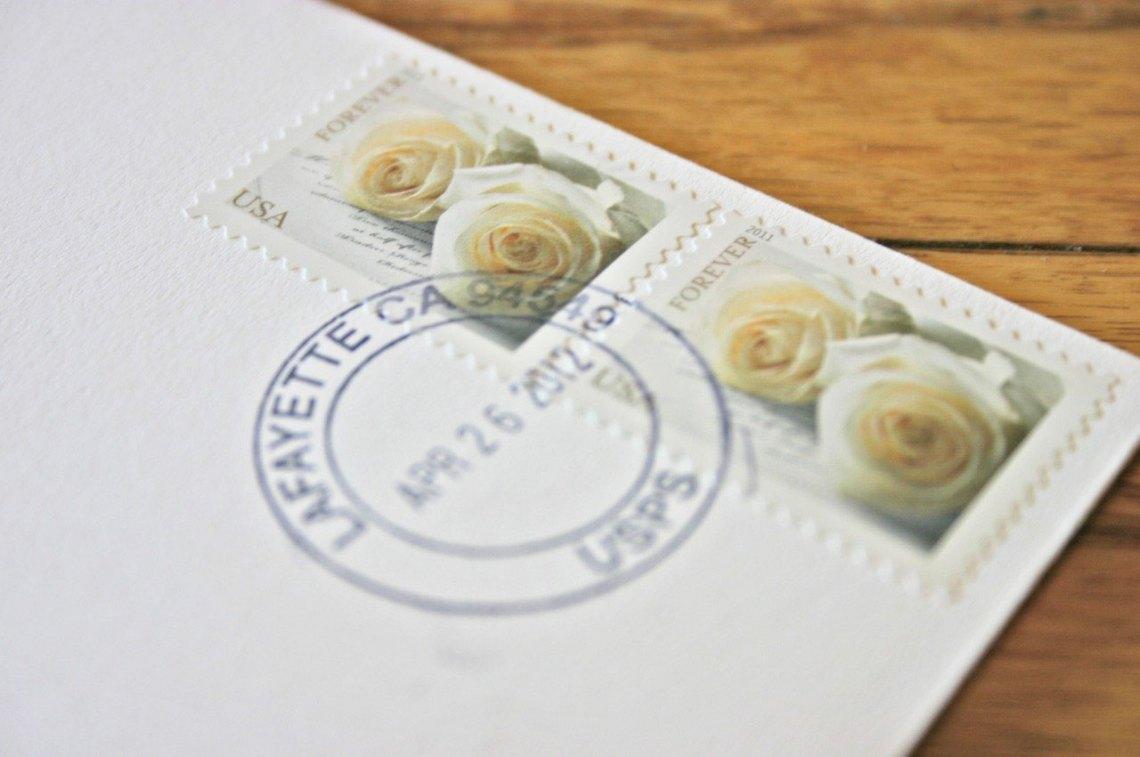 Hand Canceled Invitation | The Postman's Knock