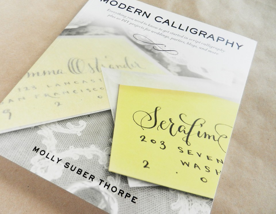 Modern Calligraphy by Molly Suber Thorpe | The Postman's Knock