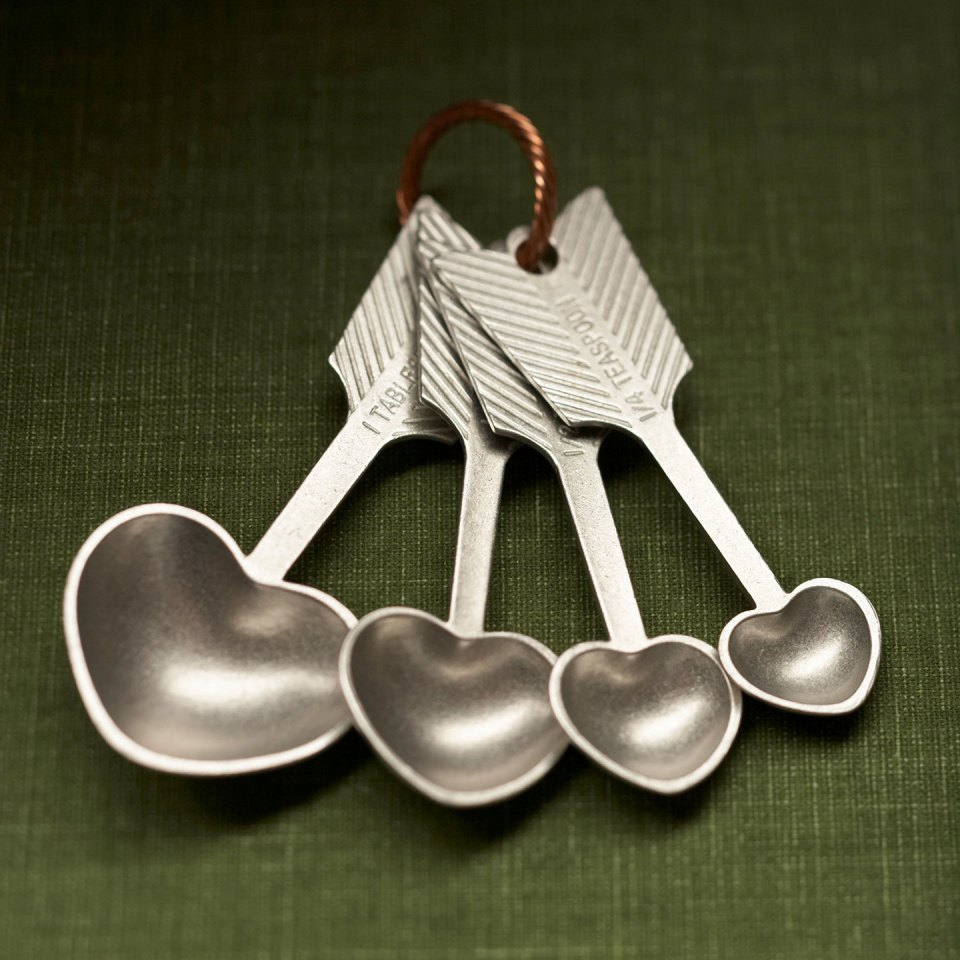 Heart Measuring Spoons | The Postman's Knock