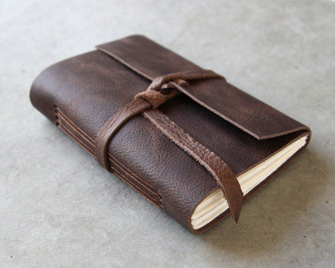 Brown Leather Journal | The Postman's Knock