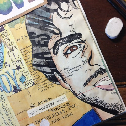 Life + Artwork via iPhone Photos | The Postman's Knock