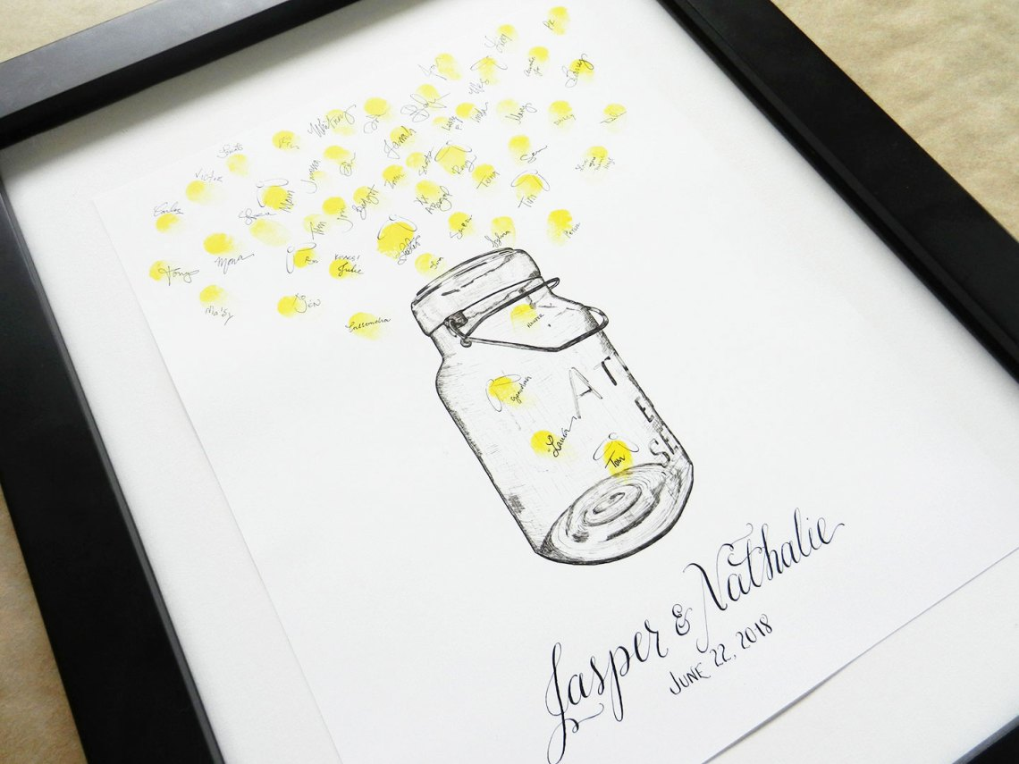 Bell Jar Drawing Fireflies And Bell Jar