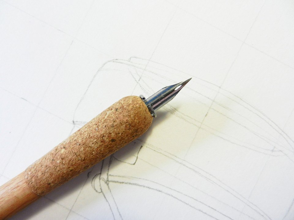 Line Drawing Tutorial | The Postman's Knock