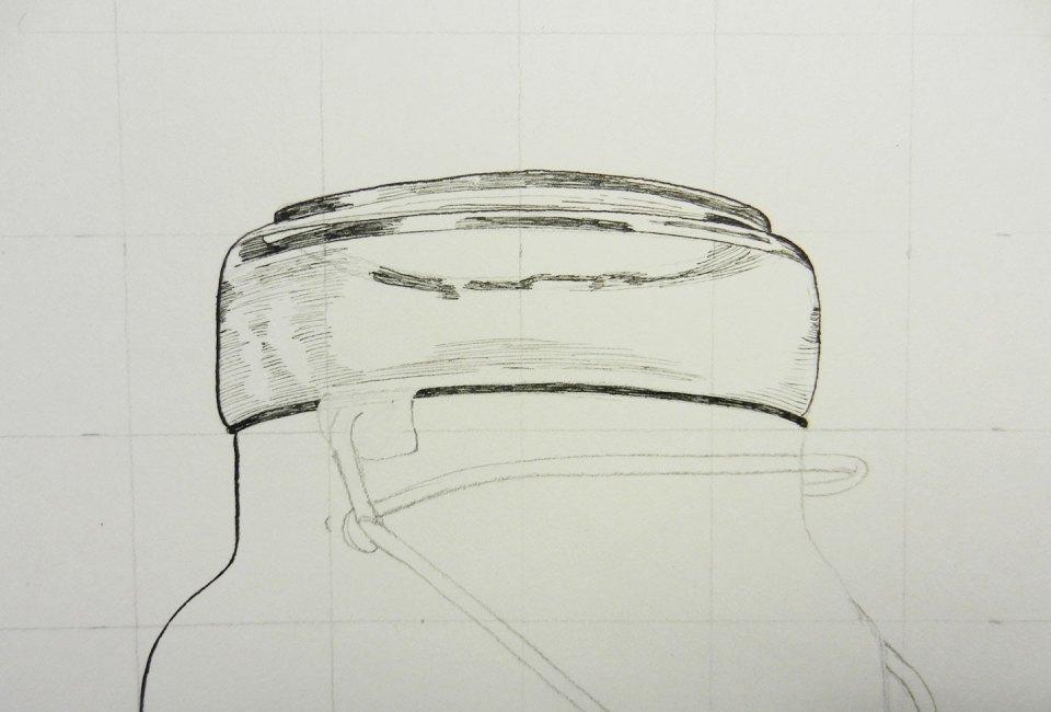 Line Art Photo Tutorial : Drawing tutorial the postman's knock
