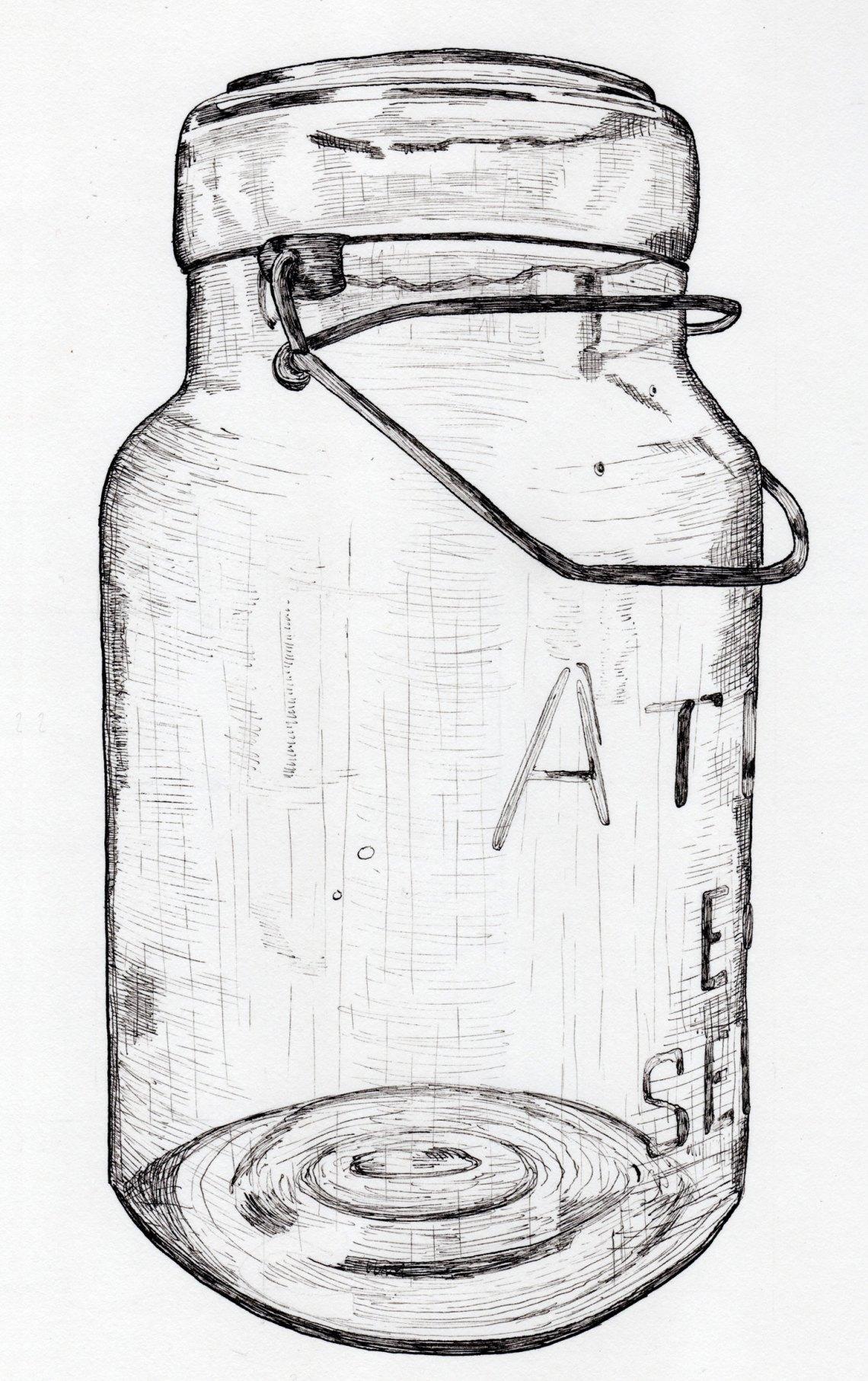 Line Art Drawing Tutorial : Line drawing tutorial the postman s knock