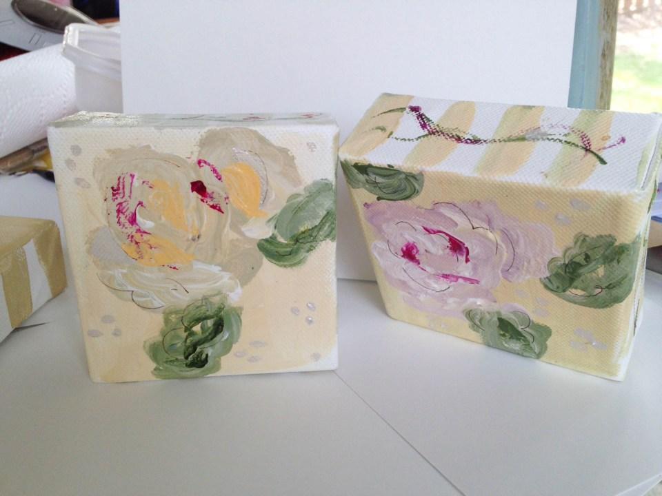 Creating Acrylic Flowers | The Postman's Knock