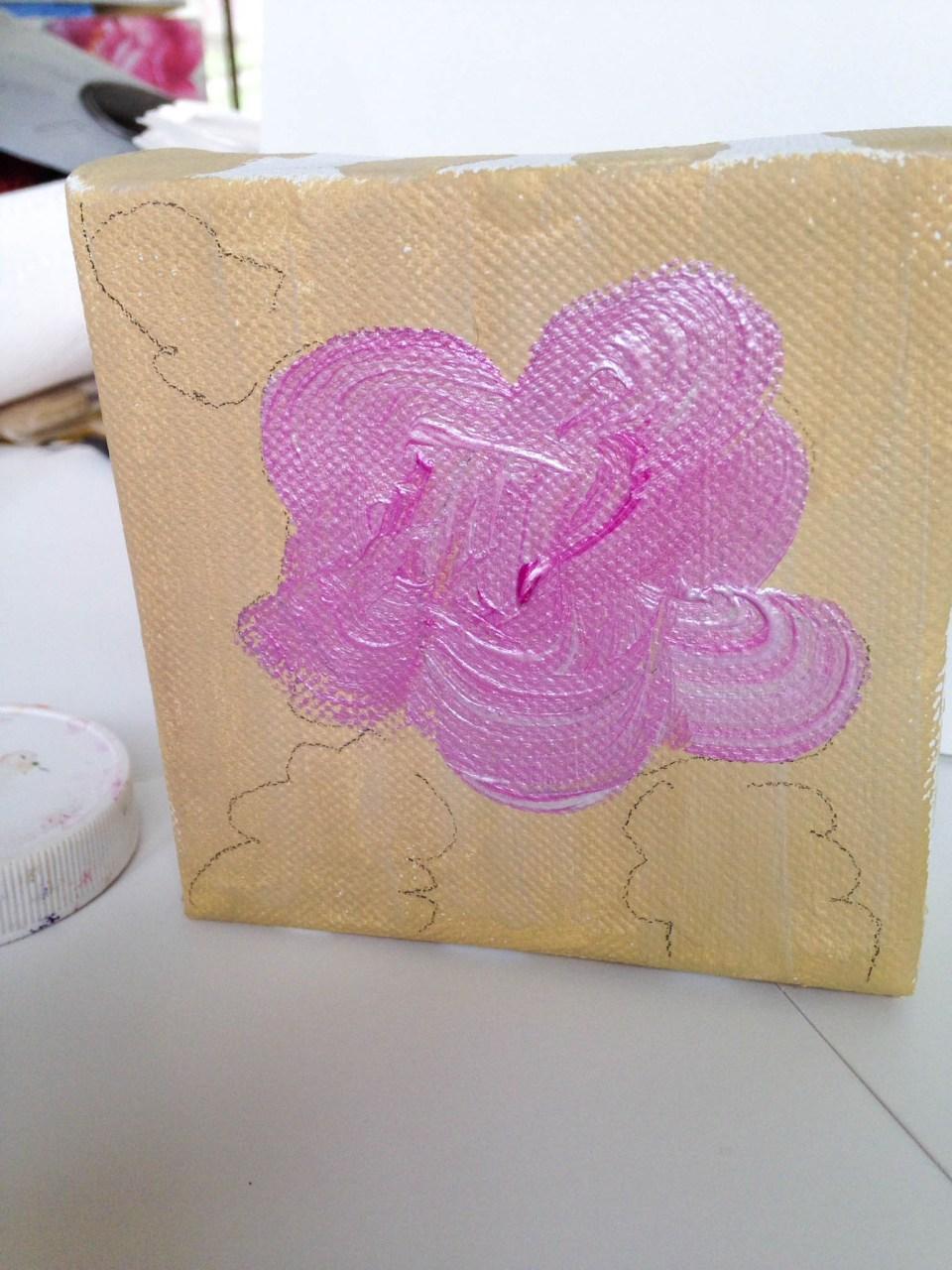 Creating Acrylic Flowers   The Postman's Knock