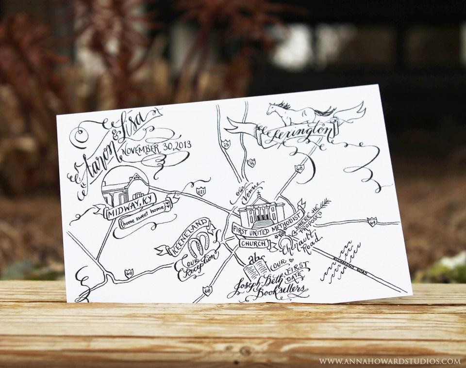 Calligraphy_Wedding_Map