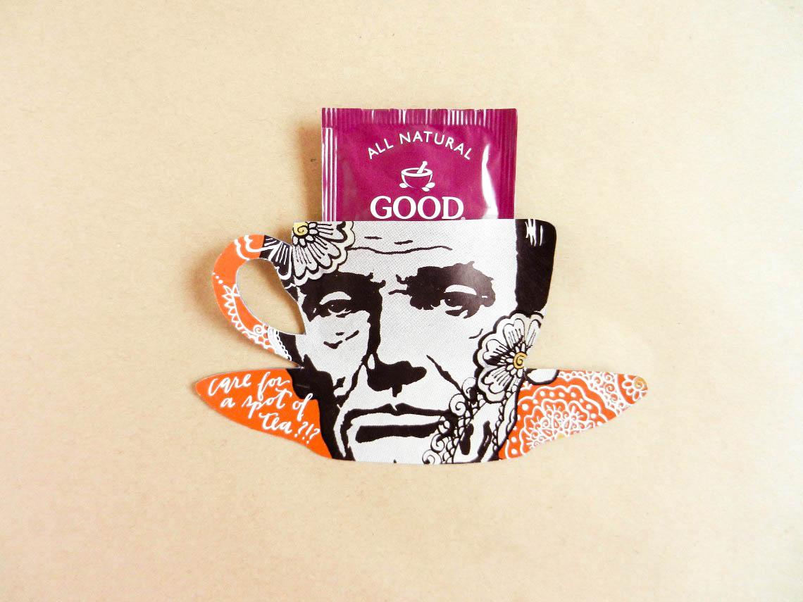 Abe Lincoln Tea Bag Holder | The Postman's Knock