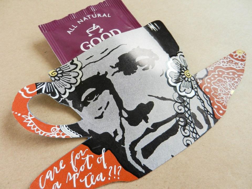 Paper Teacup Tea Bag Holder | The Postman's Knock