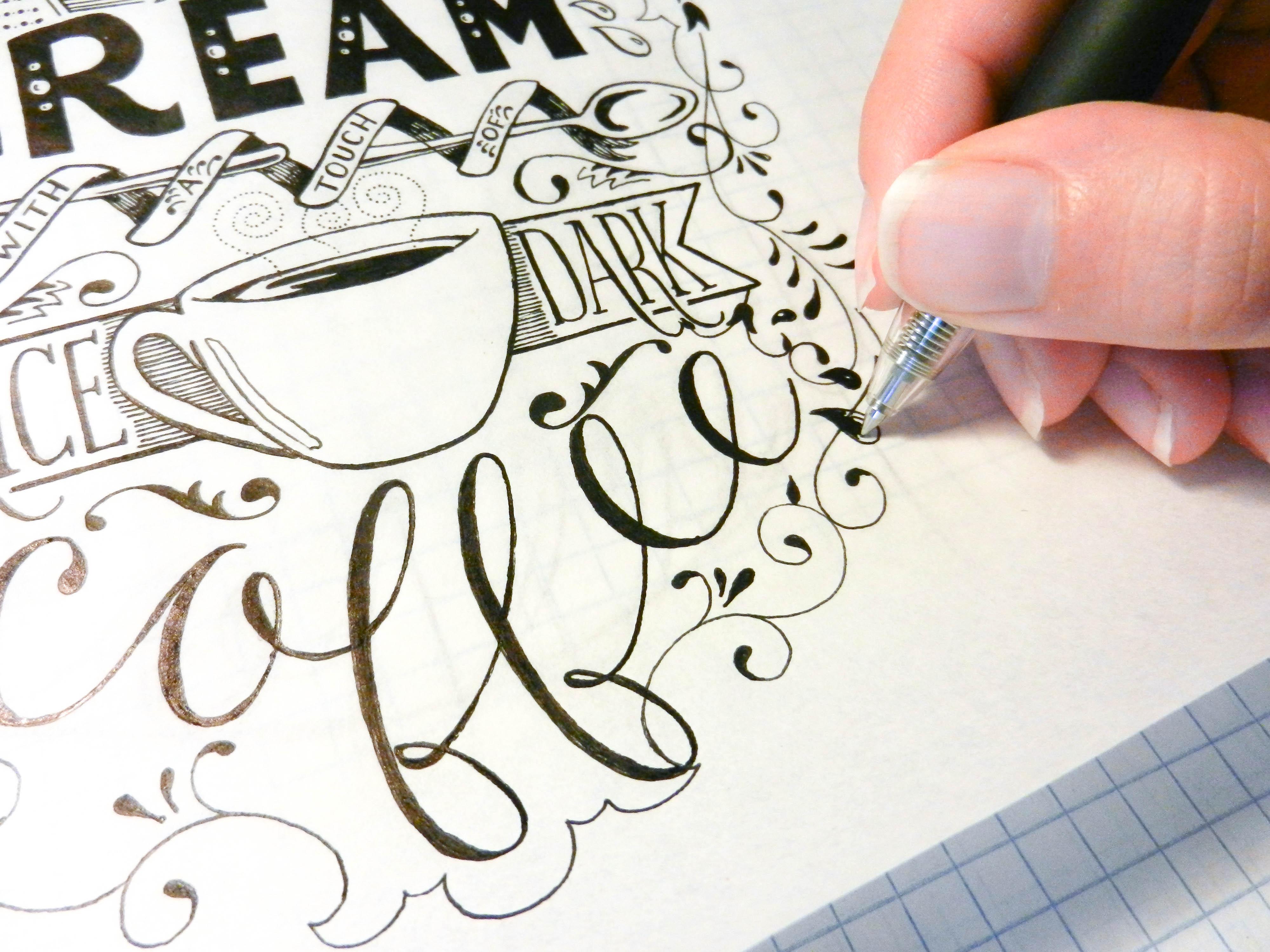 Typography Art | The Postman's Knock
