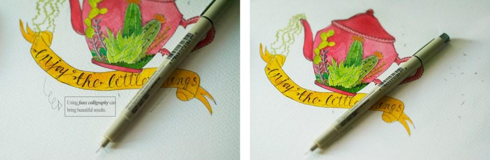Make a Watercolor Illustration | Inkstruck Studio via The Postman's Knock