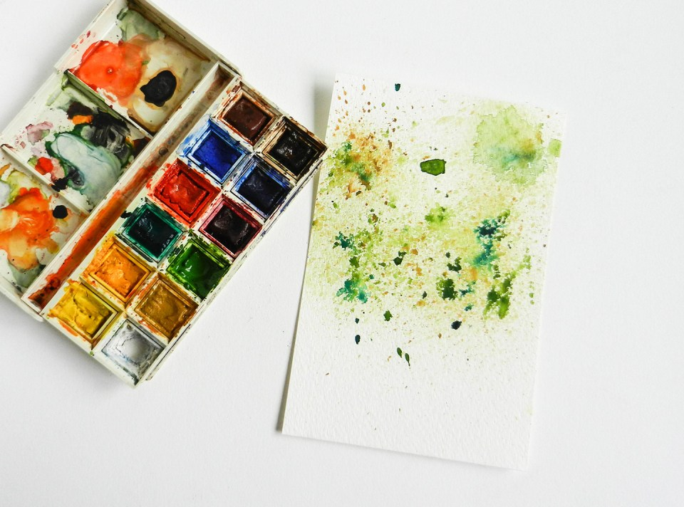 Spatter Tree Tutorial | The Postman's Knock