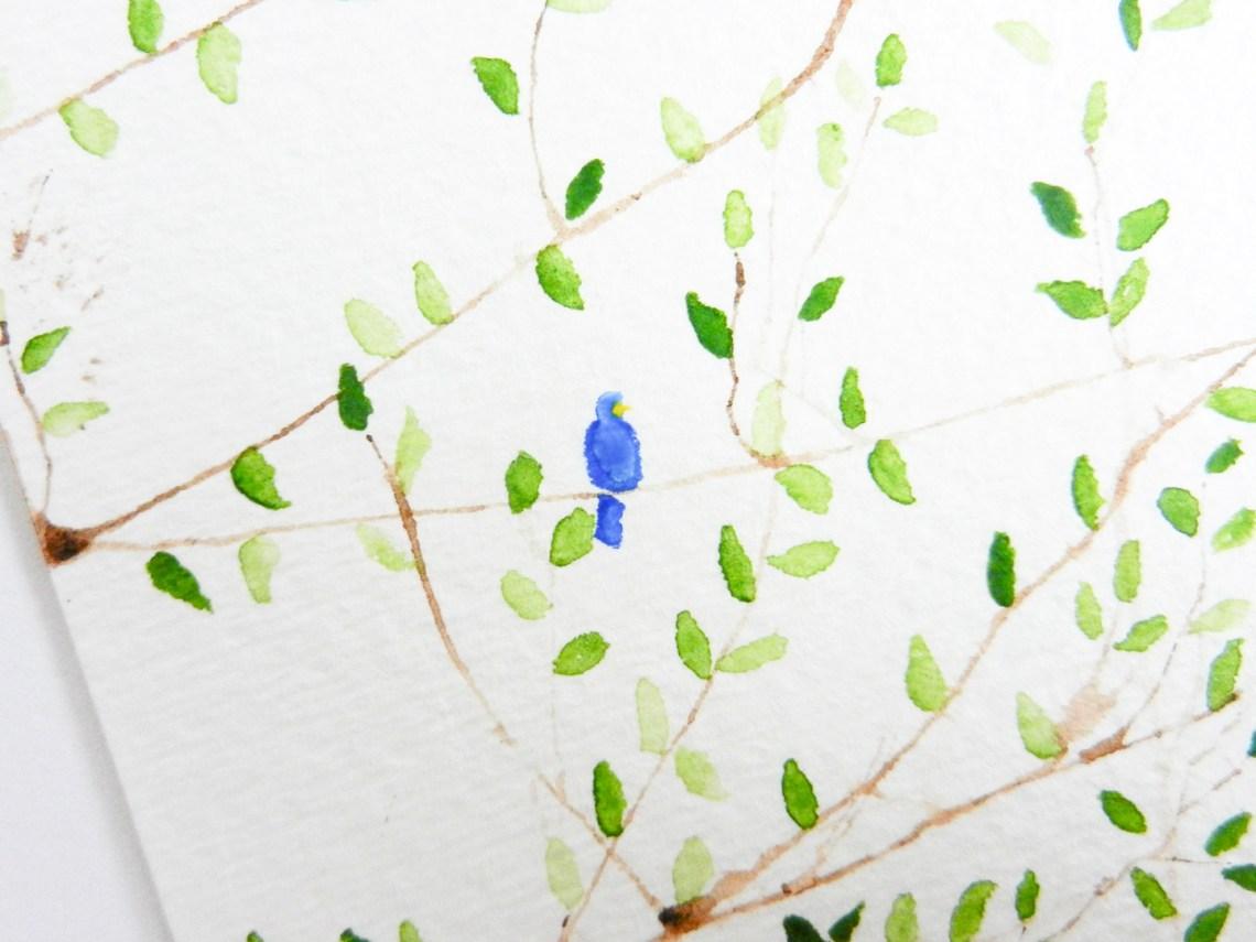 Simple Tree Art Tutorial | The Postman's Knock