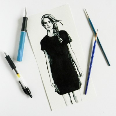 Contemporary Fashion Drawing Tutorial