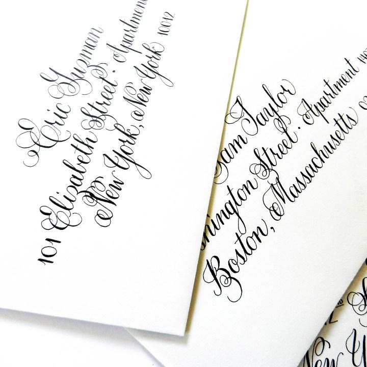Envelope Calligraphy   The Postman's Knock