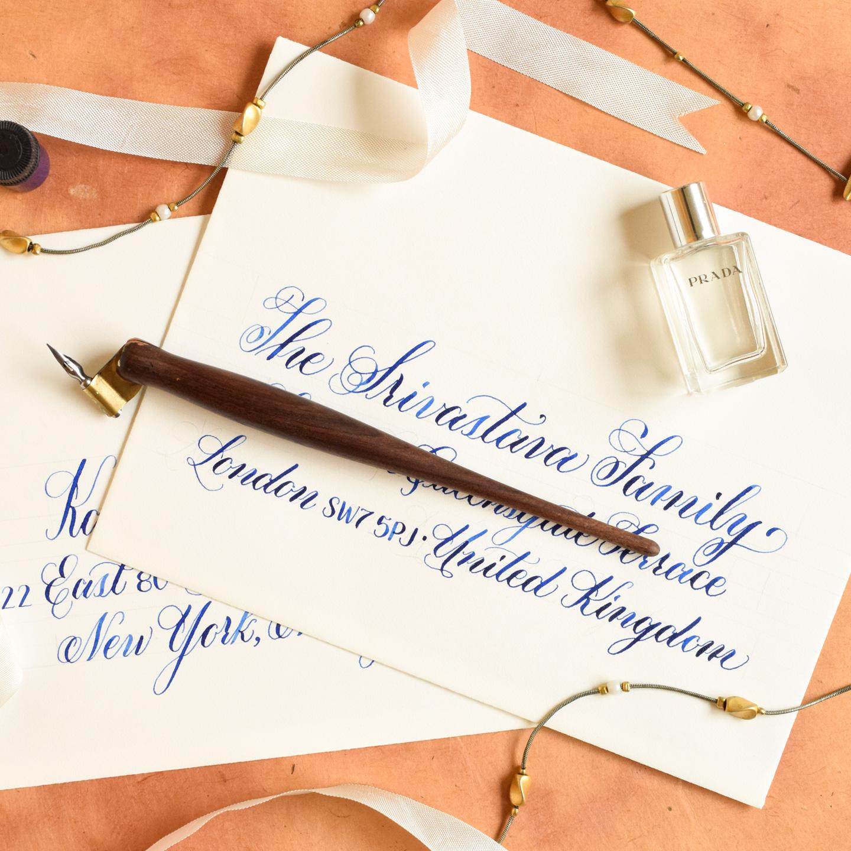 Printable Calligraphy Worksheet Set Janet Style