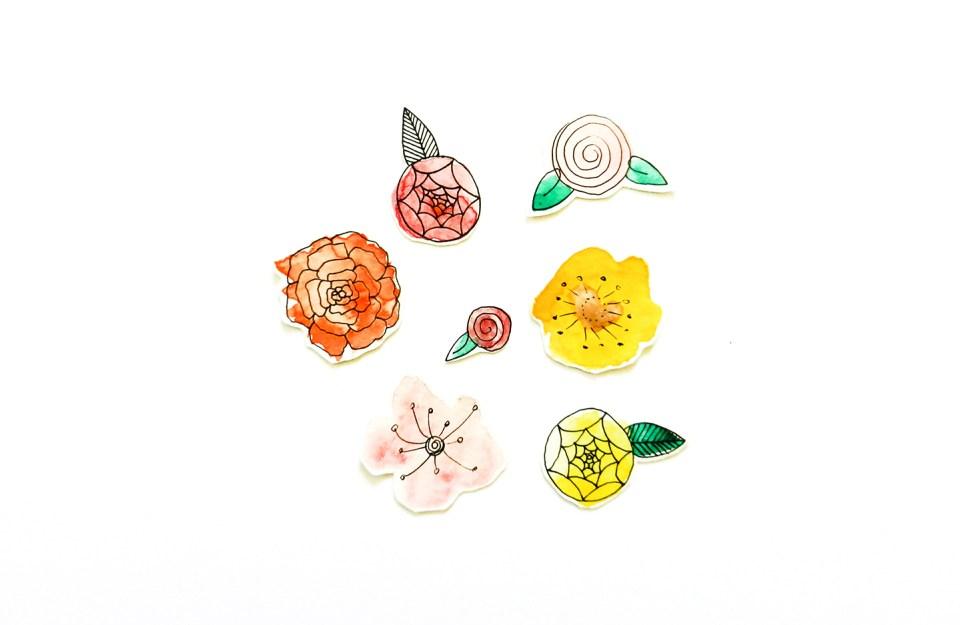 DIY Flower Confetti Tutorial | The Postman's Knock