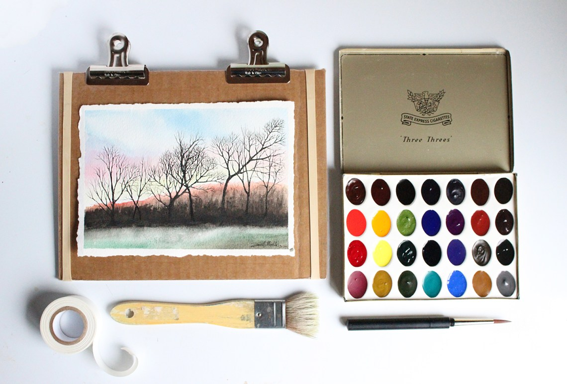 All About Watercolor Paints | Greenleaf and Blueberry via The Postman's Knock