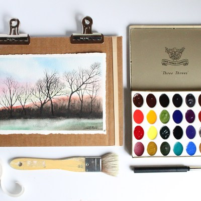 All About Watercolor Paints – Guest Post by Greenleaf & Blueberry