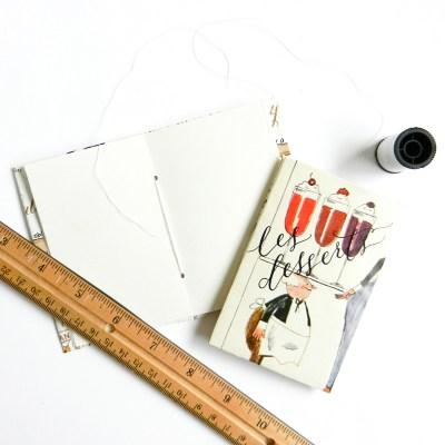 Mini DIY Book Tutorial