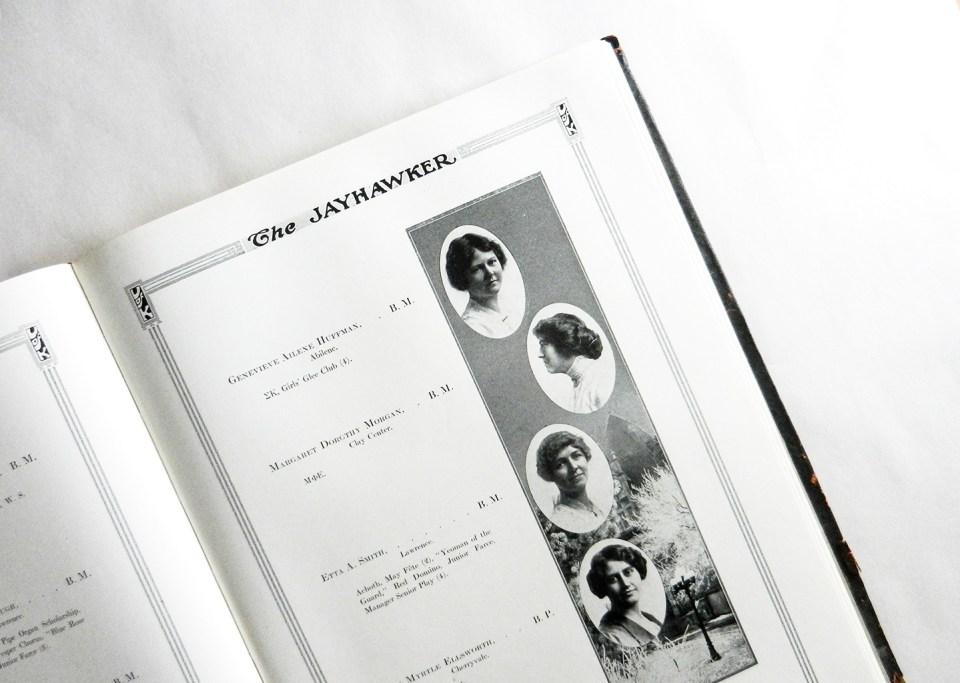1914 University of Kansas Yearbook | The Postman's Knock