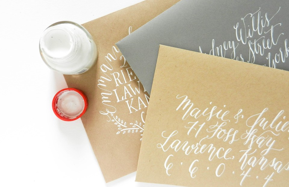 Guide to calligraphy inks the postmans knock