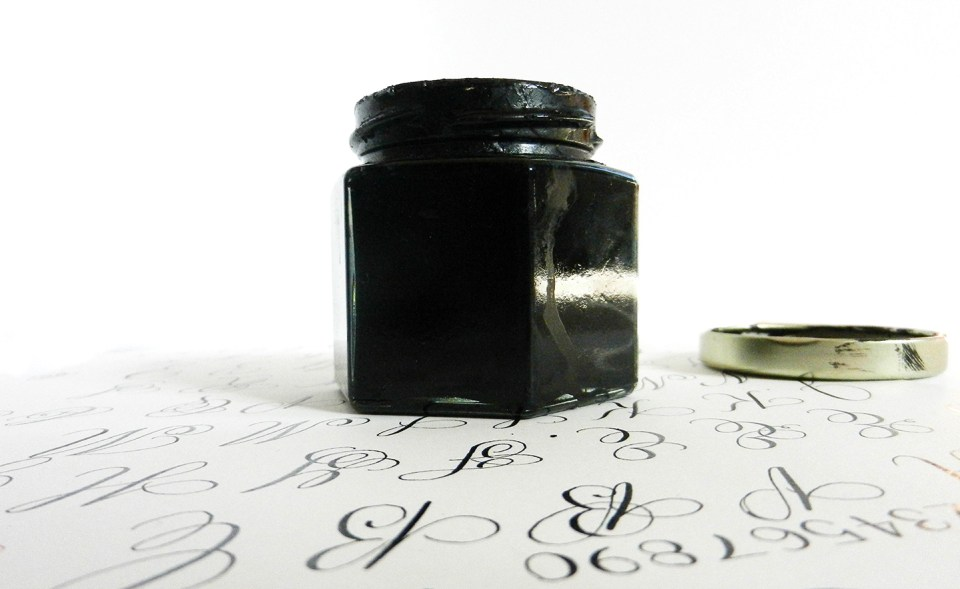 A Guide To Calligraphy Inks The Postman 39 S Knock