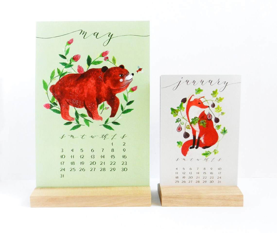 "6""x9"" 2015 Desk Calendars | The Postman's Knock"
