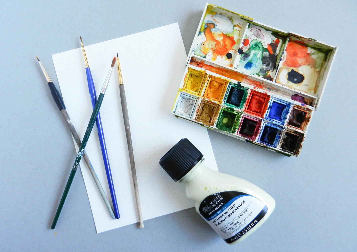 Easy Watercolor Art Tutorial – The Postman's Knock