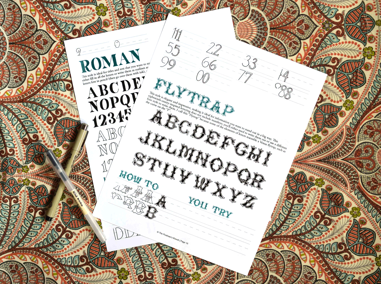 Flytrap + Roman Hand-Lettering Styles   The Postman's Knock