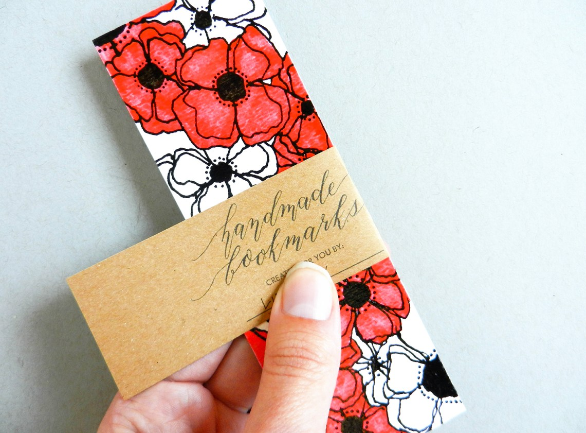DIY Bookmarks + Gift Label Printable | The Postman's Knock