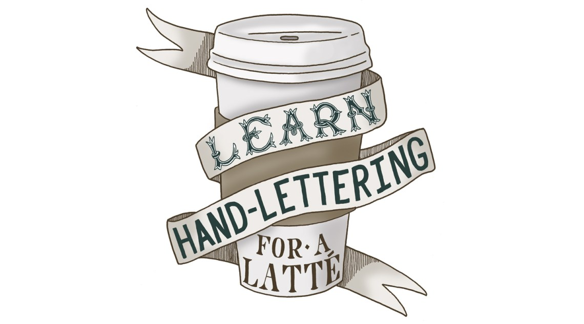 Learn Hand-Lettering for a Latté   The Postman's Knock