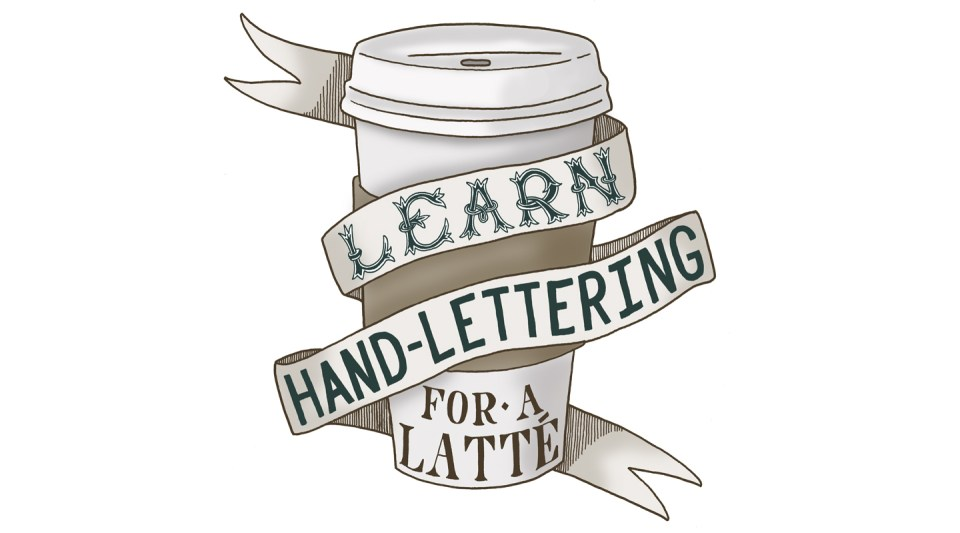 Learn Hand-Lettering for a Latté | The Postman's Knock
